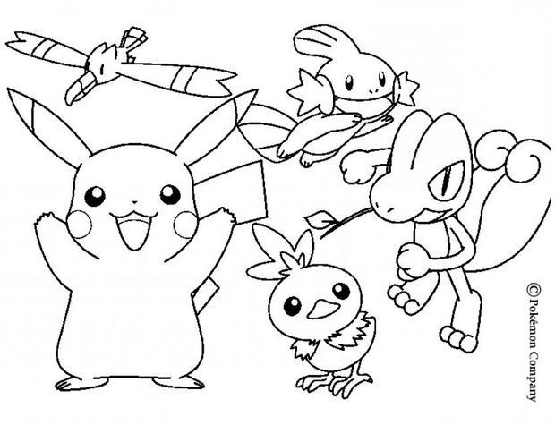 Dessin de pikachu pokemon - Pikachu coloriage ...