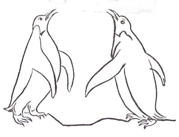 19 dessins de coloriage pingouin banquise imprimer - Coloriage pingouin ...
