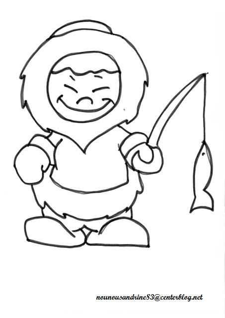 19 dessins de coloriage pingouin banquise imprimer - Dessiner un ours en maternelle ...
