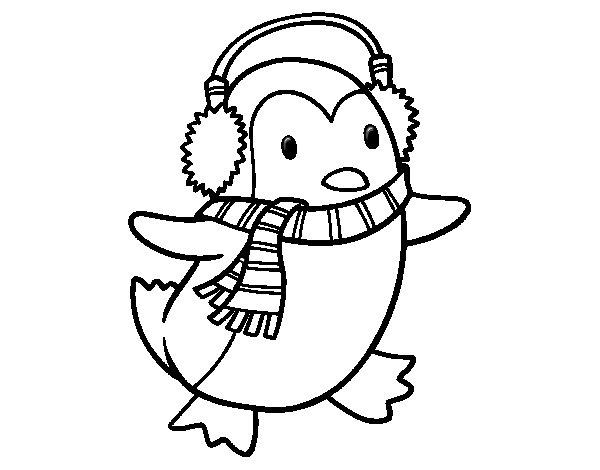 20 dessins de coloriage pingouin de noel imprimer - Pinguini di natale immagini ...