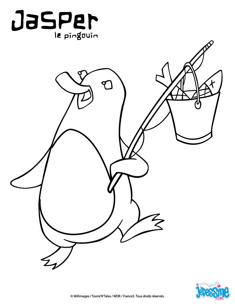20 dessins de coloriage pingouin en ligne imprimer - Coloriage en ligne superman ...