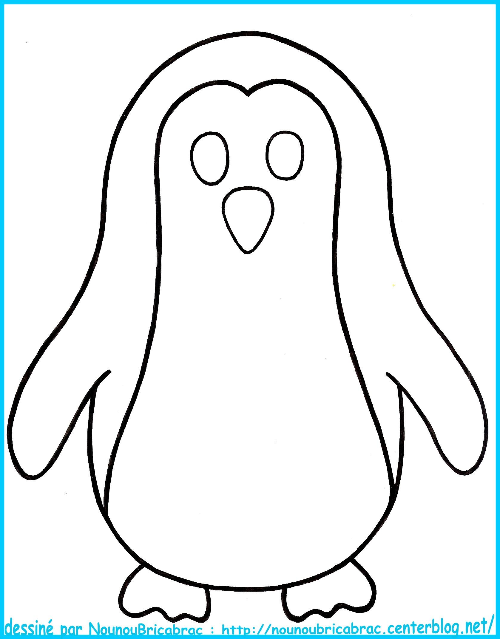 116 dessins de coloriage pingouin imprimer - Modele gratuit pingouin ...