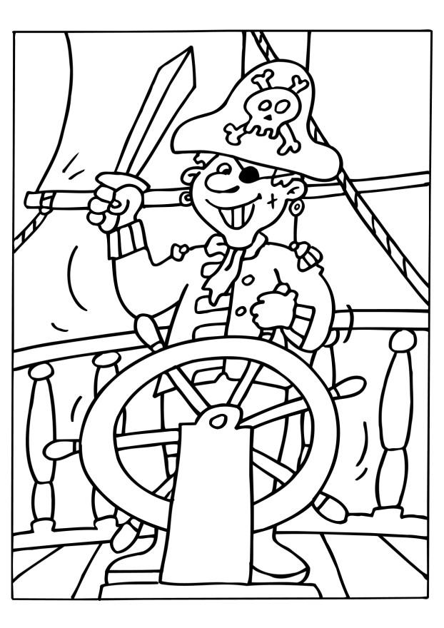 coloriage pirate en ligne