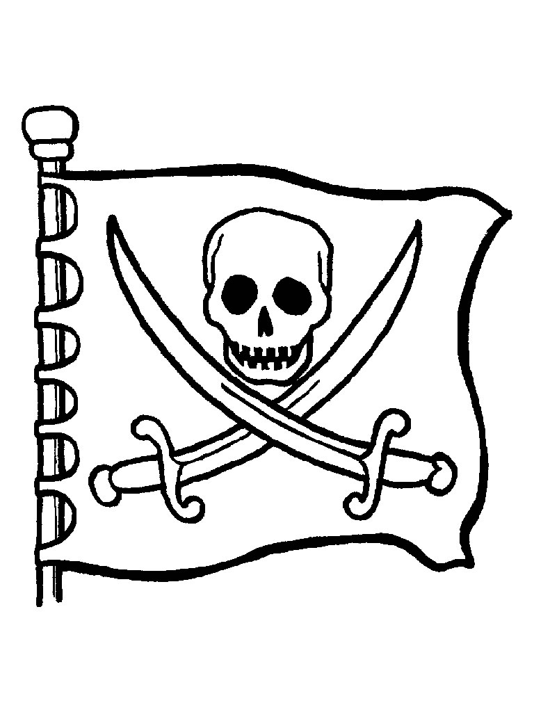 coloriage pirate lego