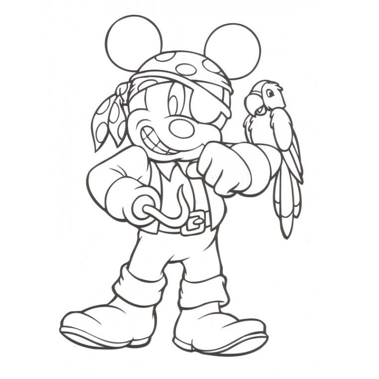 Coloriage pirate en ligne - Dessins pirates ...