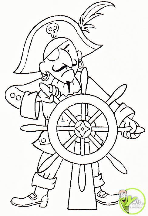 Coloriage pirate des caraibes la fontaine de jouvence - Dessin pirate des caraibes ...