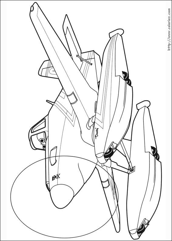 Dessin colorier dusty planes 2 - Planes coloriage ...