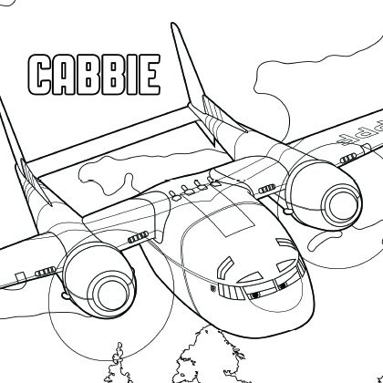 coloriage dusty planes 2