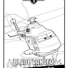 dessin à colorier planes 2 gratuit