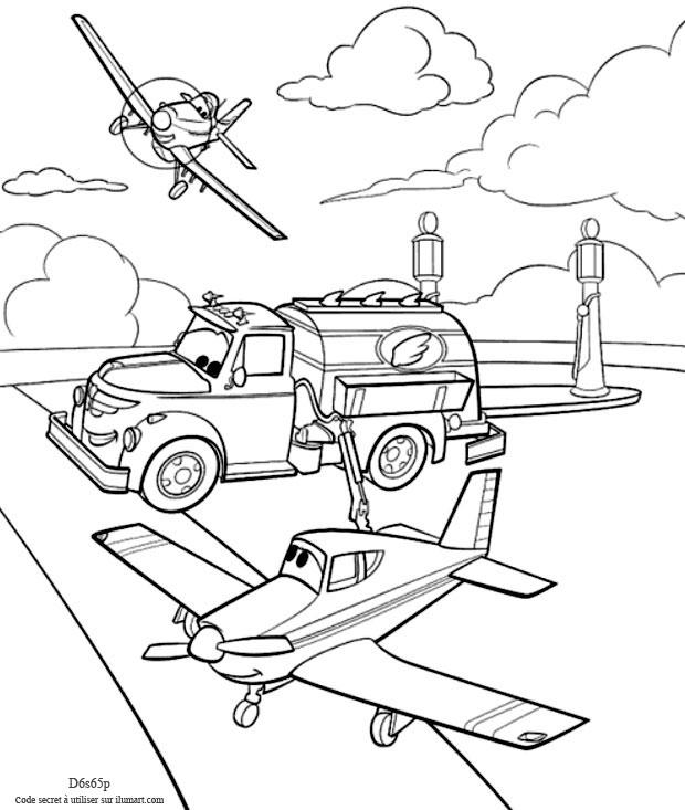 20 Dessins De Coloriage Planes à Imprimer Gratuit à Imprimer