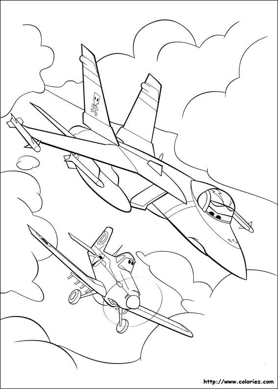 18 dessins de coloriage planes disney imprimer - Plane coloriage ...