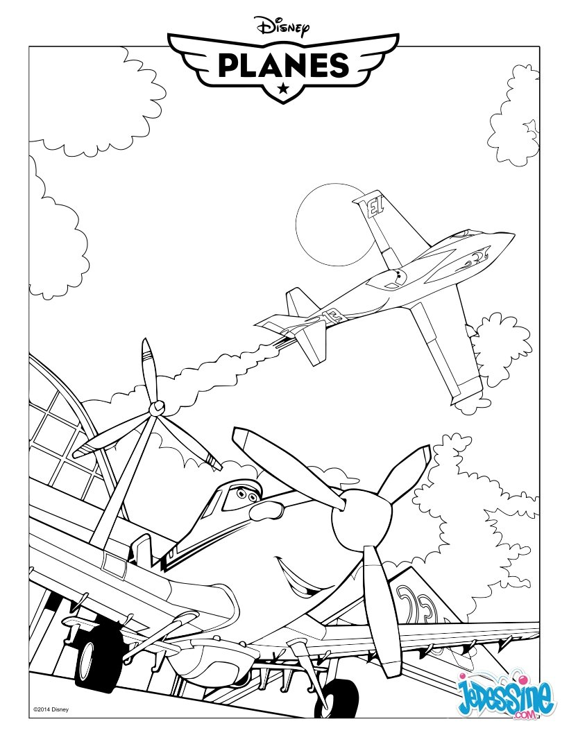 Dessin colorier planes en ligne gratuit - Plane coloriage ...
