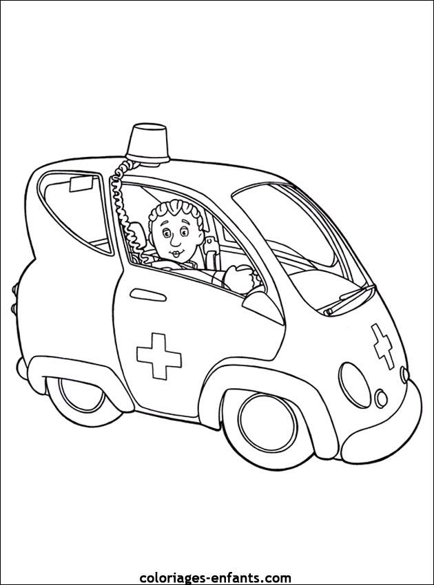 87 Dessins De Coloriage Playmobil Ambulance 224 Imprimer
