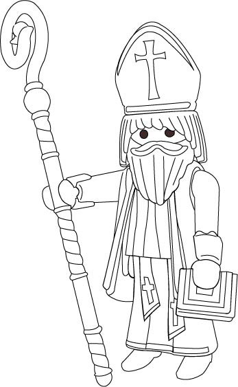 coloriage playmobil