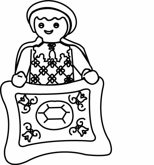 dessin playmobil noel