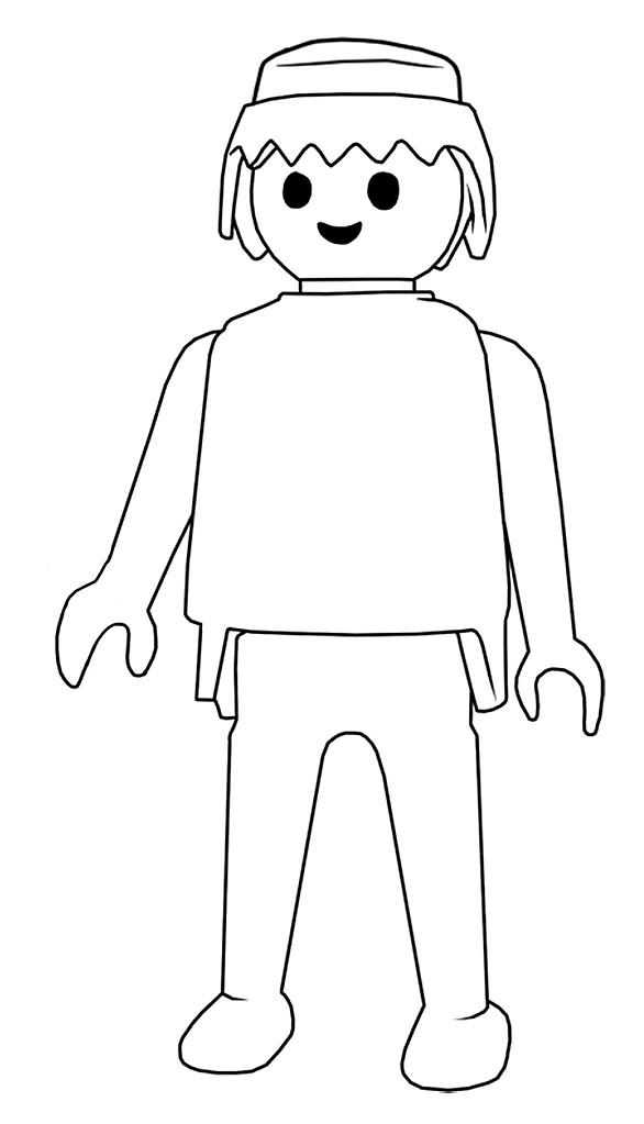 31 dessins de coloriage Playmobil à imprimer