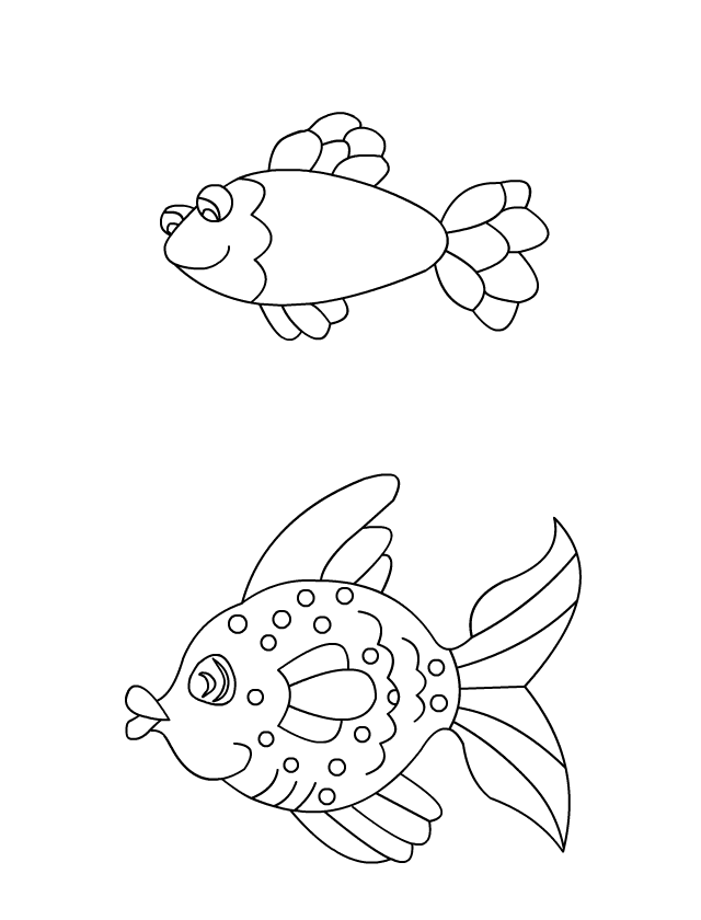 94 dessins de coloriage poisson 1 avril imprimer - Coloriage avril ...