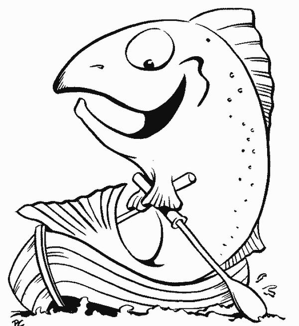 98 dessins de coloriage poisson avril maternelle imprimer - Dessin de poisson facile ...