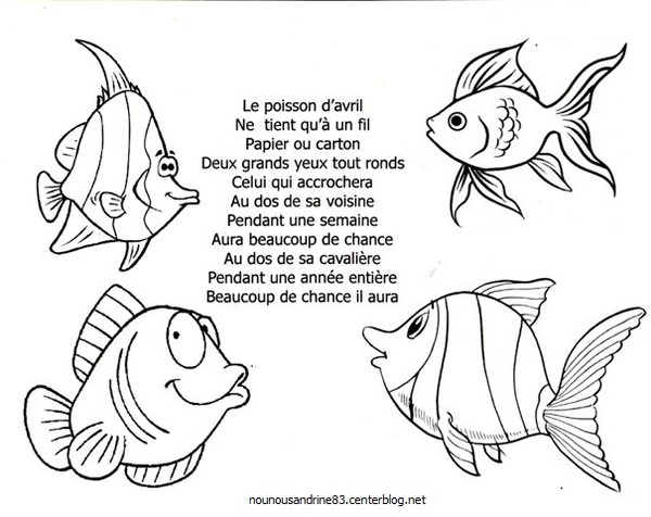 Lovely Coloriage Poisson Maternelle Charmant Coloriage Poisson