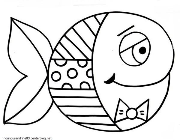 98 dessins de coloriage poisson avril maternelle imprimer - Coloriage de poisson a imprimer ...