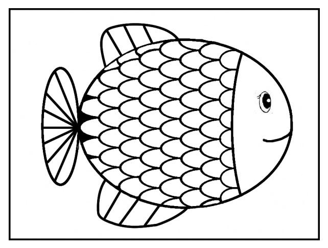 dessin poisson d'avril a imprimer tfou
