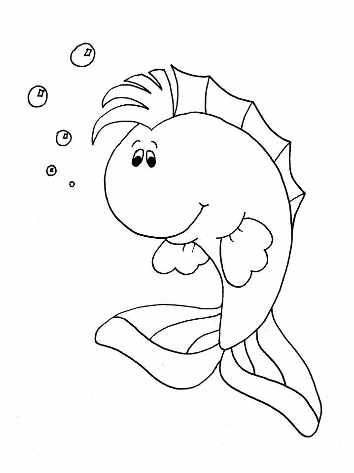 poisson d'avril 2014 coloriage � dessiner