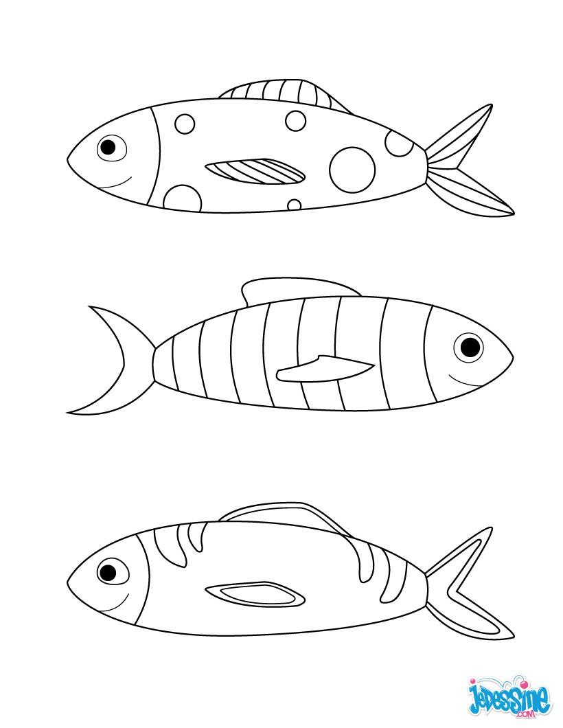 Coloriage magique poisson d 39 avril - Dessin a colorier poisson d avril ...
