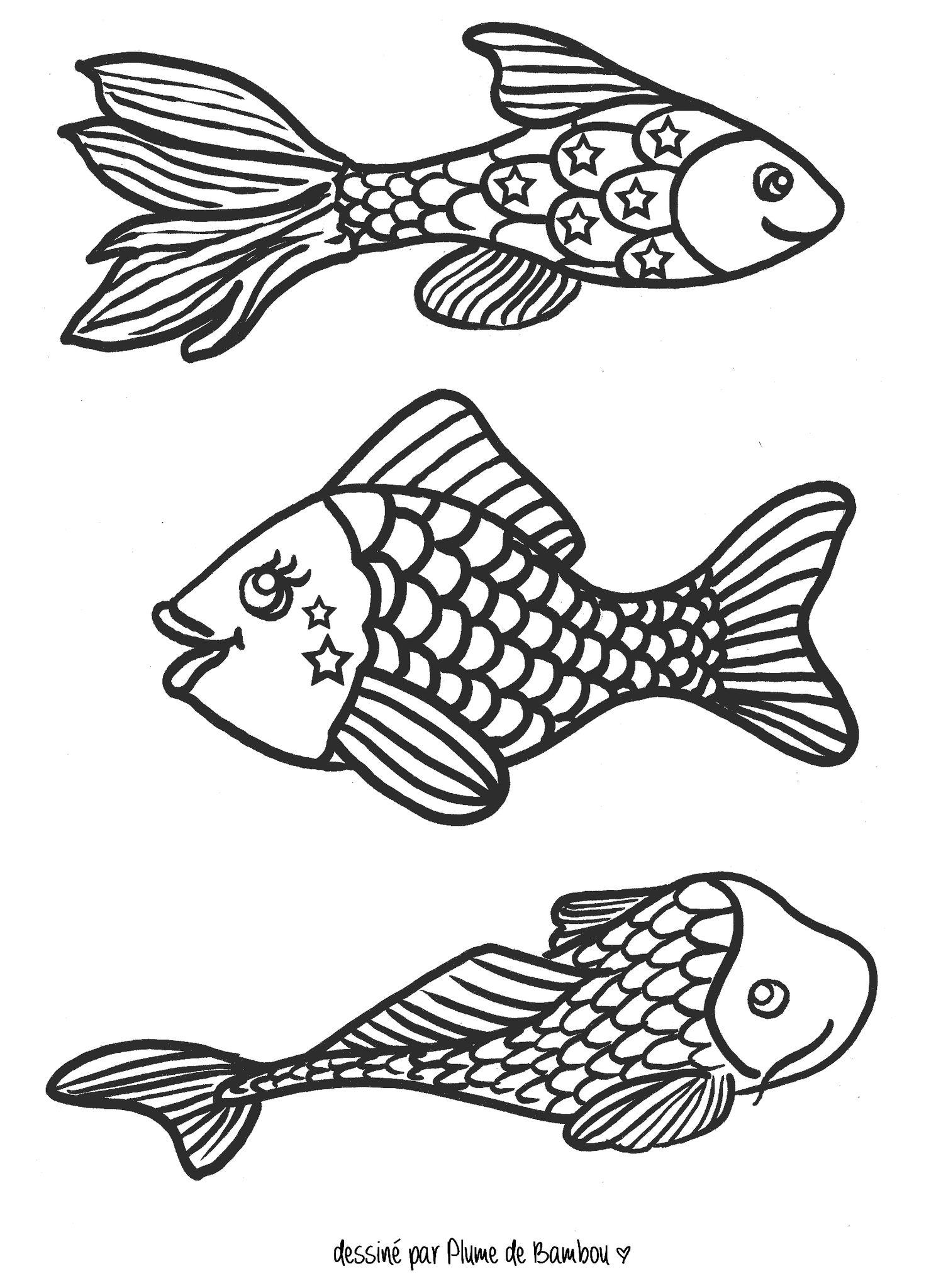 96 dessins de coloriage poisson d 39 avril rigolo a imprimer imprimer. Black Bedroom Furniture Sets. Home Design Ideas