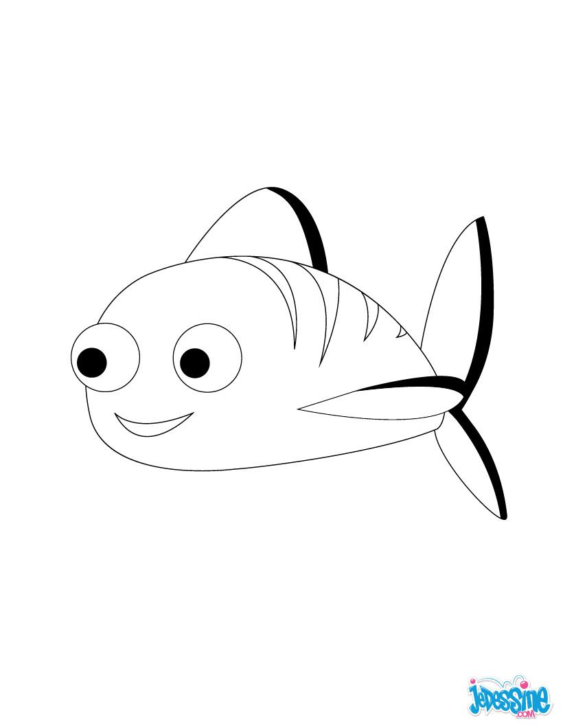 18 dessins de coloriage poisson rouge en ligne imprimer - Dessin de poisson a imprimer gratuit ...