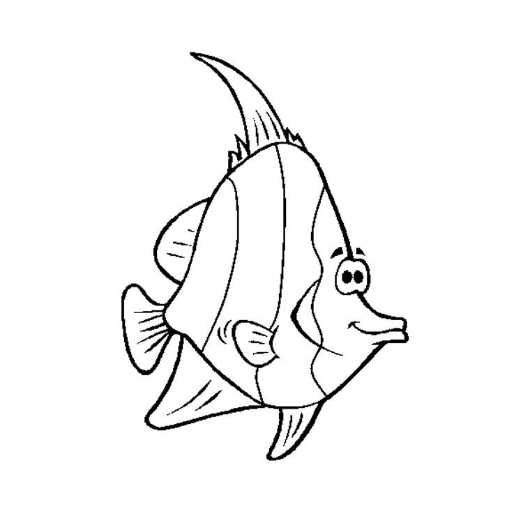 19 dessins de coloriage poisson rouge gratuit imprimer - Coloriage poisson rouge ...