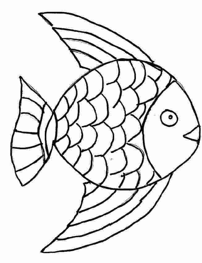 116 dessins de coloriage poisson rouge imprimer - Poisson dessin ...