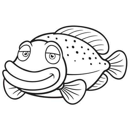 Dessin les poissons rouges matisse - Coloriage poisson rouge ...