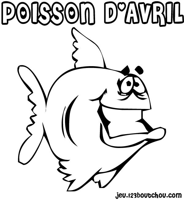 coloriage à dessiner poisson prehistorique
