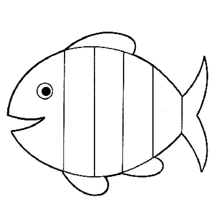 coloriage à dessiner poisson des profondeurs
