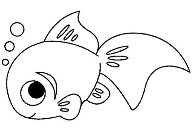 26 dessins de coloriage poisson imprimer - Dessin poisson ...