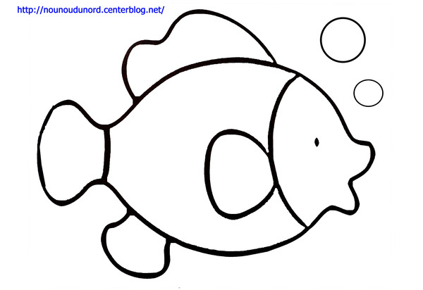 Dessin simple de poisson - Dessin poisson ...