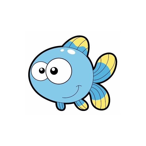 Dessin colorier poissonnier - Poisson dessin couleur ...
