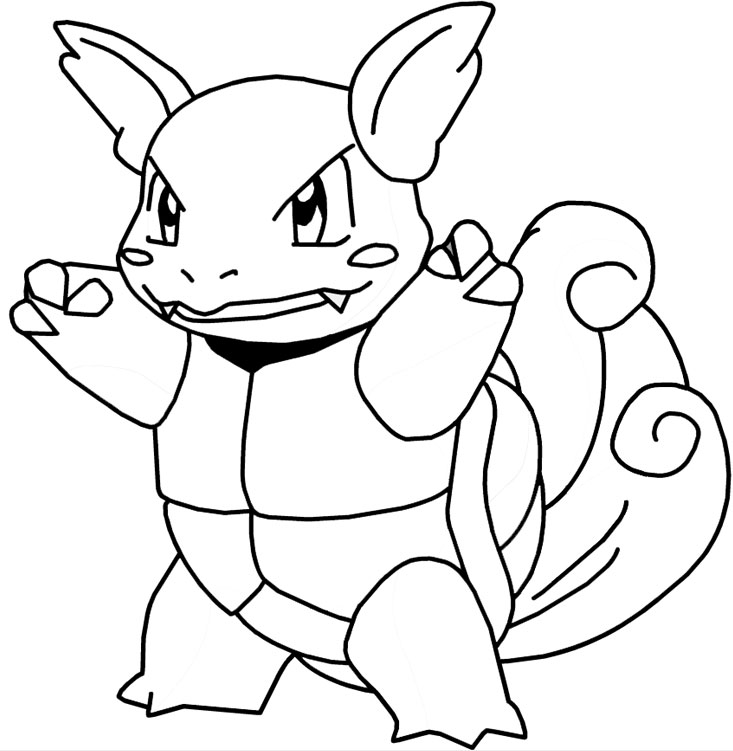 20 dessins de coloriage pokemon en ligne imprimer - Dessins de pokemon ...
