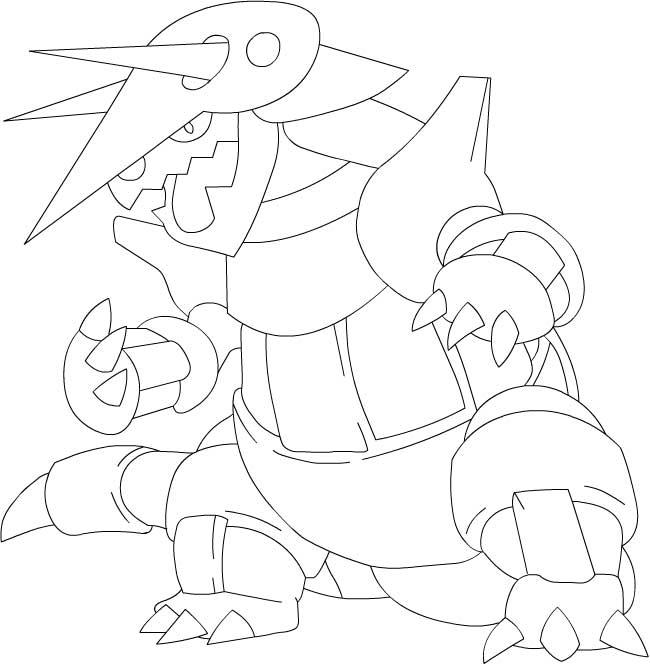 dessin pokemon ex et x a imprimer