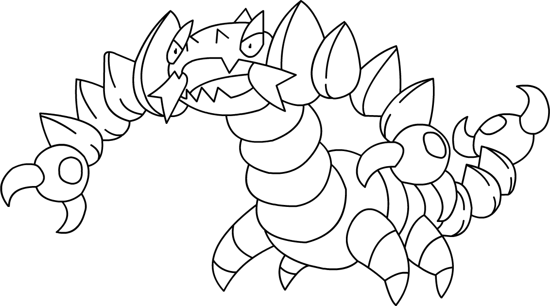 20 dessins de coloriage pokemon ex imprimer - Dessin facile de pokemon ...