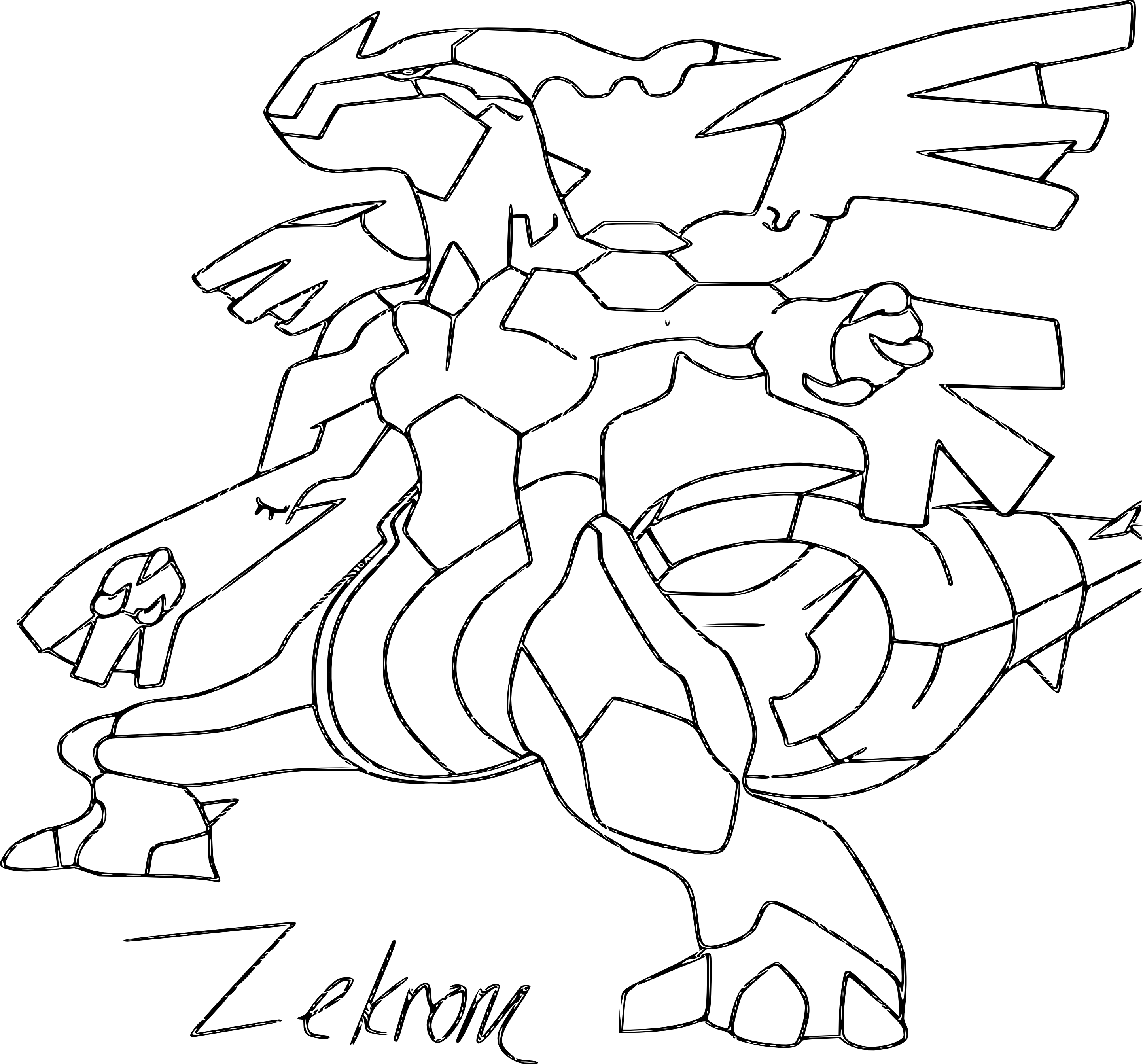 Dessin colorier pokemon ex mega evolution - Coloriage pokemon ex ...