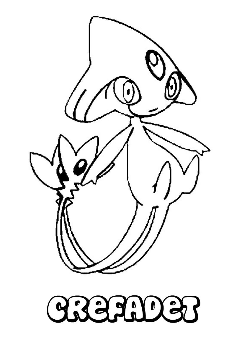 19 dessins de coloriage pokemon legendaire imprimer - Dessin de pokemon facile ...