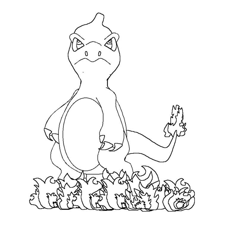 coloriage pokemon mega evolution