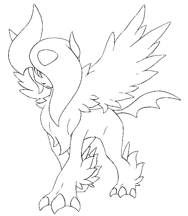 coloriage pokemon mega evolution a imprimer