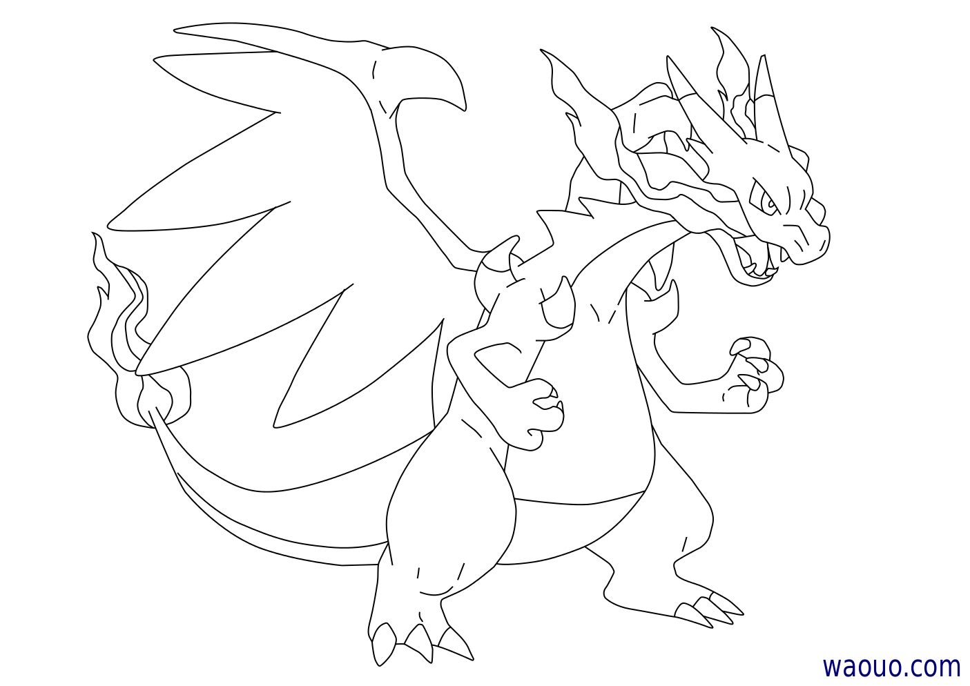 36 dessins de coloriage pokemon mega evolution imprimer - Coloriage de pokemon a imprimer ...