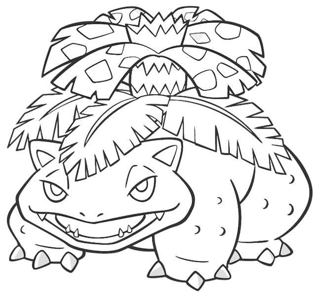 pokemon mega evolution coloriage