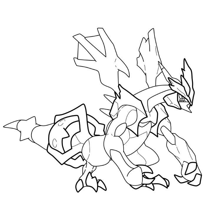 Dessin de pokemon noir - Pokemon legendaire blanc 2 ...