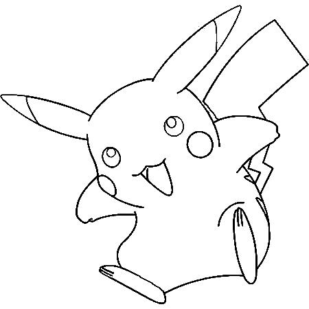 20 dessins de coloriage pokemon pikachu imprimer - Pikachu dessin anime ...