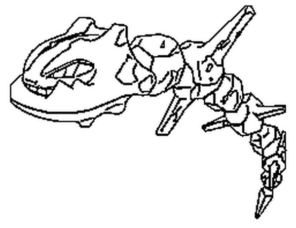 onyx mega evolution coloring pages - photo#7