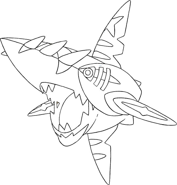 coloriage pokemon steelix